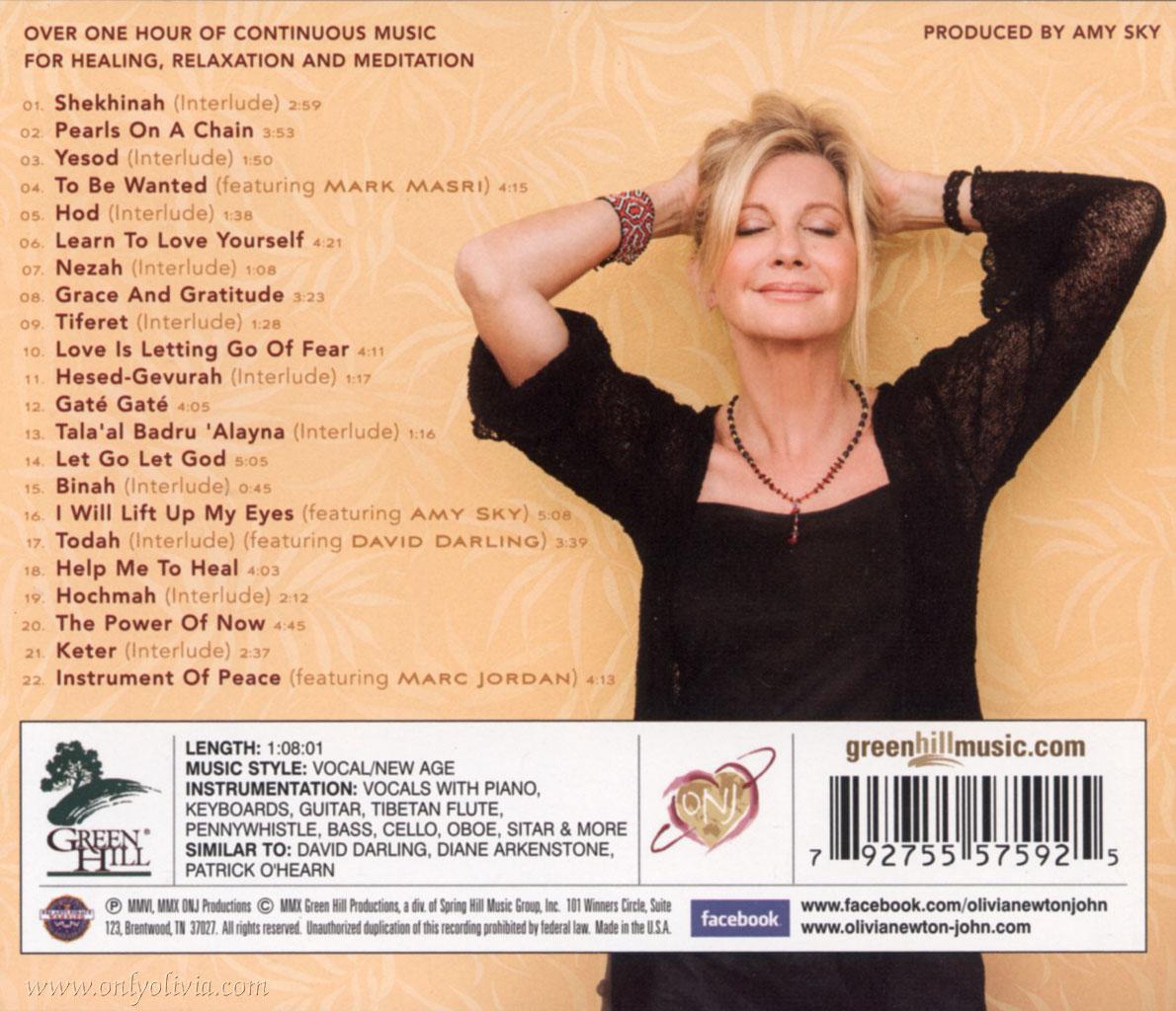 Olivia newton john gt music gt albums gt grace and gratitude renewed
