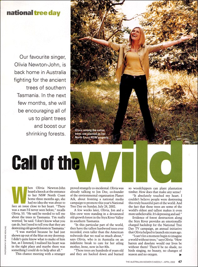 Call of the Wild (tree day) - Womens Weekly