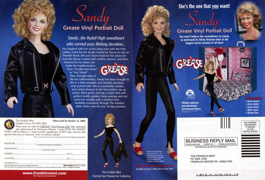 Sandy 2 Doll ad -