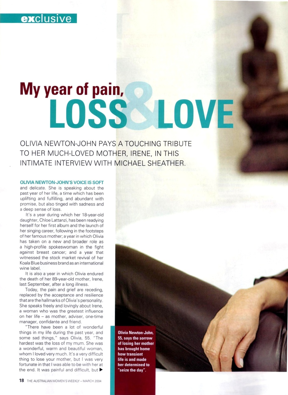 my year of loss and love - Womens Weekly