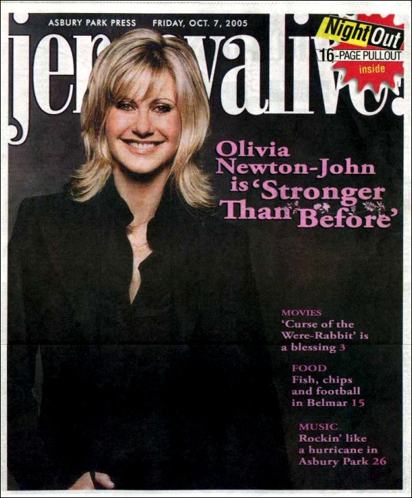 Olivia is Stronger than Before - Jersey Alive