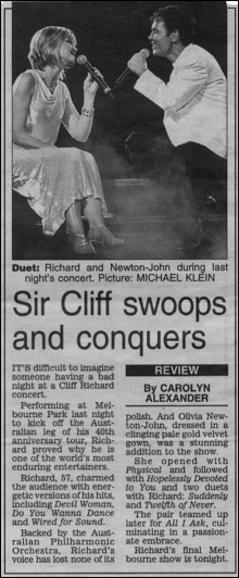 Cliff and Olivia - Herald