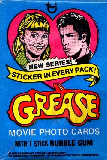 Grease Movie Memorabilia